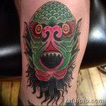 фото Тату на колене от 05.06.2018 №245 - Tattoo on the knee - tatufoto.com