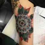 фото Тату на колене от 05.06.2018 №246 - Tattoo on the knee - tatufoto.com