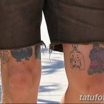 фото Тату на колене от 05.06.2018 №248 - Tattoo on the knee - tatufoto.com