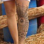 фото Тату на колене от 05.06.2018 №259 - Tattoo on the knee - tatufoto.com