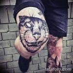 фото Тату на колене от 05.06.2018 №264 - Tattoo on the knee - tatufoto.com