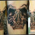 фото Тату на колене от 05.06.2018 №269 - Tattoo on the knee - tatufoto.com