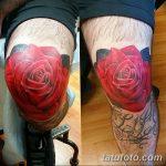 фото Тату на колене от 05.06.2018 №271 - Tattoo on the knee - tatufoto.com