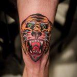 фото Тату на колене от 05.06.2018 №273 - Tattoo on the knee - tatufoto.com