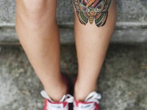 фото Тату на колене от 05.06.2018 №276 - Tattoo on the knee - tatufoto.com