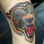 фото Тату на колене от 05.06.2018 №282 - Tattoo on the knee - tatufoto.com