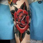 фото Тату на колене от 05.06.2018 №283 - Tattoo on the knee - tatufoto.com
