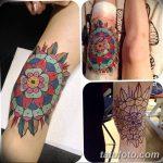 фото Тату на колене от 05.06.2018 №284 - Tattoo on the knee - tatufoto.com