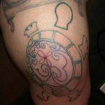 фото Тату на колене от 05.06.2018 №290 - Tattoo on the knee - tatufoto.com