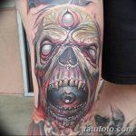 фото Тату на колене от 05.06.2018 №294 - Tattoo on the knee - tatufoto.com