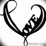 фото Эскизы тату Сердце от 20.06.2018 №001 - Sketches Tattoo Heart - tatufoto.com