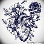 фото Эскизы тату Сердце от 20.06.2018 №002 - Sketches Tattoo Heart - tatufoto.com