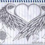 фото Эскизы тату Сердце от 20.06.2018 №006 - Sketches Tattoo Heart - tatufoto.com