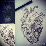 фото Эскизы тату Сердце от 20.06.2018 №010 - Sketches Tattoo Heart - tatufoto.com