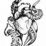фото Эскизы тату Сердце от 20.06.2018 №011 - Sketches Tattoo Heart - tatufoto.com