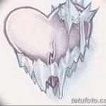фото Эскизы тату Сердце от 20.06.2018 №014 - Sketches Tattoo Heart - tatufoto.com