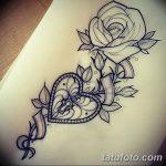 фото Эскизы тату Сердце от 20.06.2018 №015 - Sketches Tattoo Heart - tatufoto.com