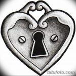 фото Эскизы тату Сердце от 20.06.2018 №016 - Sketches Tattoo Heart - tatufoto.com