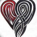 фото Эскизы тату Сердце от 20.06.2018 №018 - Sketches Tattoo Heart - tatufoto.com