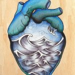 фото Эскизы тату Сердце от 20.06.2018 №021 - Sketches Tattoo Heart - tatufoto.com