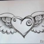 фото Эскизы тату Сердце от 20.06.2018 №024 - Sketches Tattoo Heart - tatufoto.com