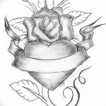 фото Эскизы тату Сердце от 20.06.2018 №028 - Sketches Tattoo Heart - tatufoto.com