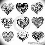 фото Эскизы тату Сердце от 20.06.2018 №036 - Sketches Tattoo Heart - tatufoto.com