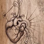фото Эскизы тату Сердце от 20.06.2018 №037 - Sketches Tattoo Heart - tatufoto.com