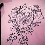 фото Эскизы тату Сердце от 20.06.2018 №041 - Sketches Tattoo Heart - tatufoto.com