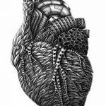 фото Эскизы тату Сердце от 20.06.2018 №043 - Sketches Tattoo Heart - tatufoto.com