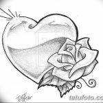 фото Эскизы тату Сердце от 20.06.2018 №044 - Sketches Tattoo Heart - tatufoto.com
