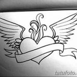 фото Эскизы тату Сердце от 20.06.2018 №047 - Sketches Tattoo Heart - tatufoto.com