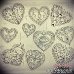 фото Эскизы тату Сердце от 20.06.2018 №052 - Sketches Tattoo Heart - tatufoto.com