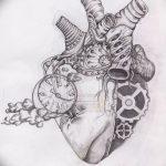 фото Эскизы тату Сердце от 20.06.2018 №055 - Sketches Tattoo Heart - tatufoto.com