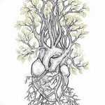 фото Эскизы тату Сердце от 20.06.2018 №056 - Sketches Tattoo Heart - tatufoto.com