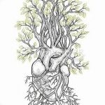 фото Эскизы тату Сердце от 20.06.2018 №057 - Sketches Tattoo Heart - tatufoto.com