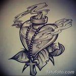 фото Эскизы тату Сердце от 20.06.2018 №058 - Sketches Tattoo Heart - tatufoto.com