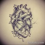 фото Эскизы тату Сердце от 20.06.2018 №061 - Sketches Tattoo Heart - tatufoto.com