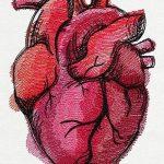 фото Эскизы тату Сердце от 20.06.2018 №062 - Sketches Tattoo Heart - tatufoto.com