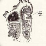 фото Эскизы тату Сердце от 20.06.2018 №069 - Sketches Tattoo Heart - tatufoto.com