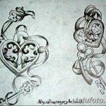 фото Эскизы тату Сердце от 20.06.2018 №071 - Sketches Tattoo Heart - tatufoto.com