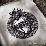 фото Эскизы тату Сердце от 20.06.2018 №074 - Sketches Tattoo Heart - tatufoto.com