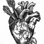 фото Эскизы тату Сердце от 20.06.2018 №075 - Sketches Tattoo Heart - tatufoto.com