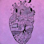 фото Эскизы тату Сердце от 20.06.2018 №079 - Sketches Tattoo Heart - tatufoto.com