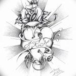 фото Эскизы тату Сердце от 20.06.2018 №081 - Sketches Tattoo Heart - tatufoto.com