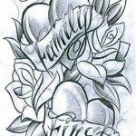 фото Эскизы тату Сердце от 20.06.2018 №082 - Sketches Tattoo Heart - tatufoto.com