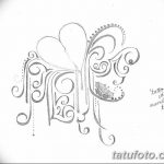 фото Эскизы тату Сердце от 20.06.2018 №084 - Sketches Tattoo Heart - tatufoto.com