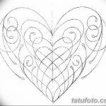 фото Эскизы тату Сердце от 20.06.2018 №085 - Sketches Tattoo Heart - tatufoto.com