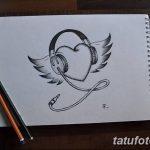 фото Эскизы тату Сердце от 20.06.2018 №086 - Sketches Tattoo Heart - tatufoto.com