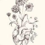 фото Эскизы тату Сердце от 20.06.2018 №087 - Sketches Tattoo Heart - tatufoto.com